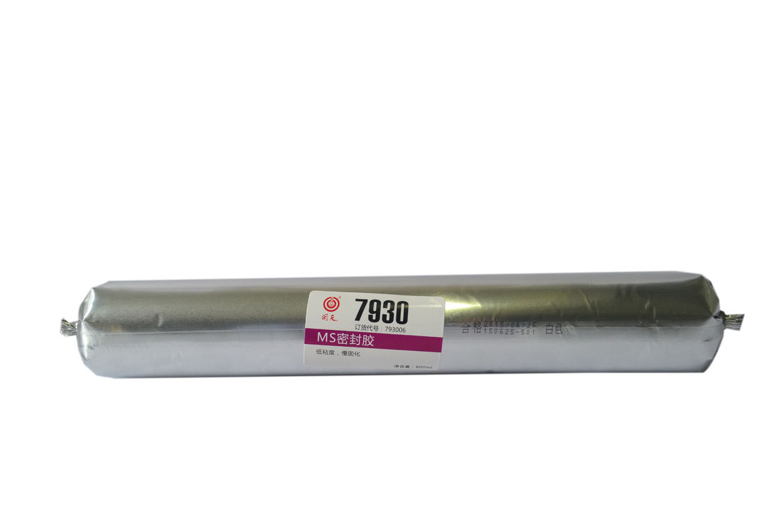 MS7930 White sausage package modified silicone sealant for auto industry