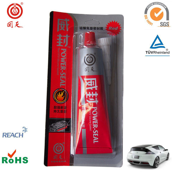 High temp red rtv silicone gasket maker for gasket sealing / red rtv silicone adhesive